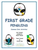 Penguin Activities: Reading, Writing, Comprehension and Math