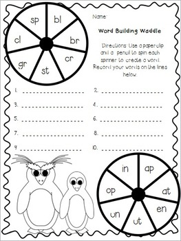 Penguin Power (Common Core Aligned Literacy and Math Activities)