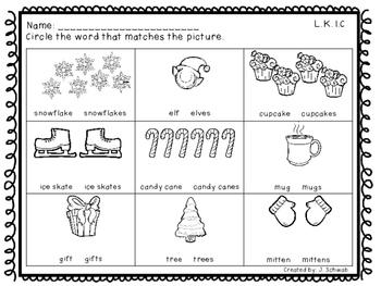 Penguin Practice- Kindergarten Grammar Packet