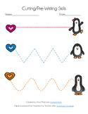Penguin Pre-Writing/Cutting Skills