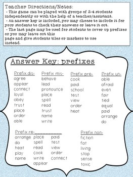 Penguin Prefixes
