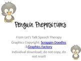 Penguin Prepositions