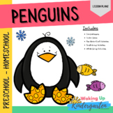 Penguin Preschool Activities   Lesson Plan-Comprehension-S