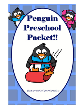 Penguin Preschool Packet