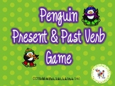 Penguin Present-Past Tense Verbs PowerPoint Game