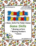 Penguin Presents Basic Skills File Folder Games Book