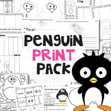 Penguins Activities to Print and Go