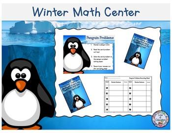 Penguin Problems-A Winter Math Center