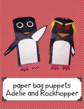Penguin Puppets