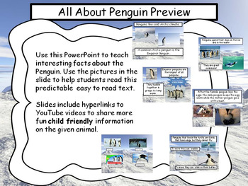 Penguin QR Research and Powerpoint