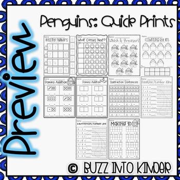 Penguin Quick Prints : No PREP