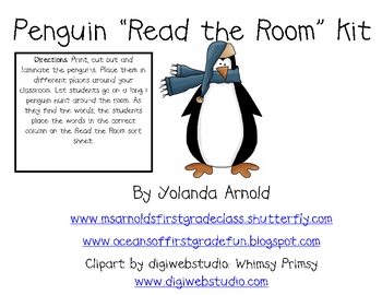 Penguin Read the Room