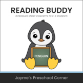 Reading Buddy - Penguin - Introduce Story Concepts - Circl