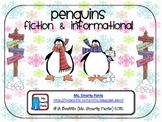 Penguin Reading Response Activities