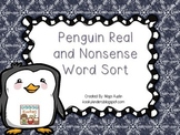 Penguin Real and Nonsense Word Sort