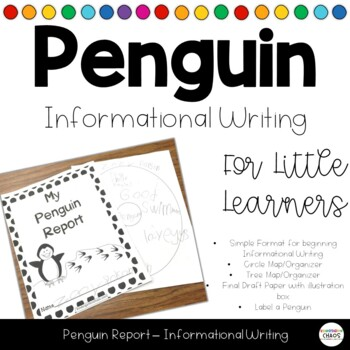 Penguin Report for Little Writers