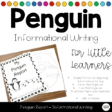 Penguin Report for Little Writers