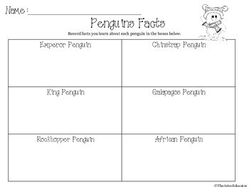 Penguin Research Activity