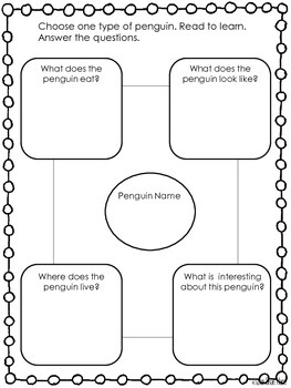 {Penguin Research Project} Shared Writing [Reading] Science Unit Center