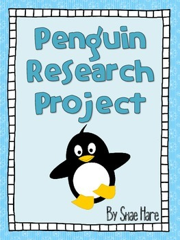 {Penguin Research Project} Shared Writing [Reading] Scienc
