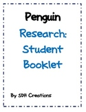 Penguin Research: Student Booklet