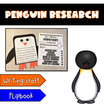 Penguin Research {Writing Craft and Flipbook}