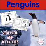 PENGUINS ACTIVITIES - Nonfiction Research With Interactive