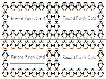Penguin Reward Cards