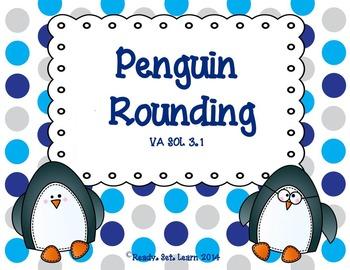 Penguin Rounding - SOL 3.1 Rounding to the nearest ten, hu
