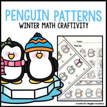 Penguin Scarf Pattern Math Craftivity