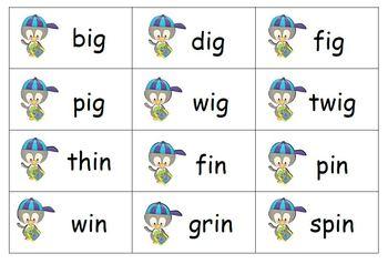 Penguin School Word Family Sorts