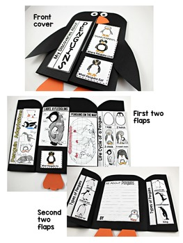 Penguins Science Interactive Activities