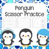 Penguin Scissor Practice