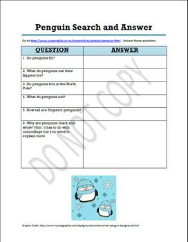 Penguin Search and Answer