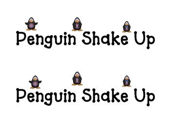 Penguin Shake Up