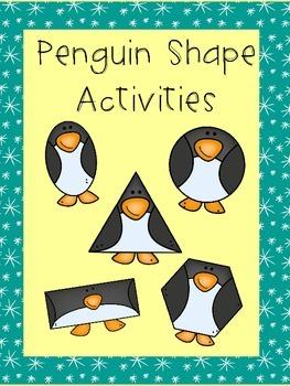 Penguin Shape Activities