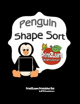 Penguin Shape Cards