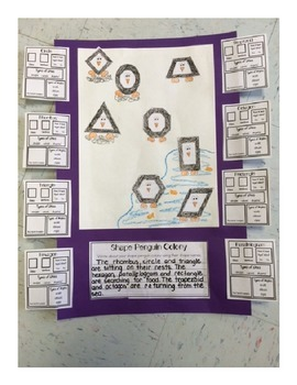 Penguin Shape Colony (An integrated geometry, science and literacy project)
