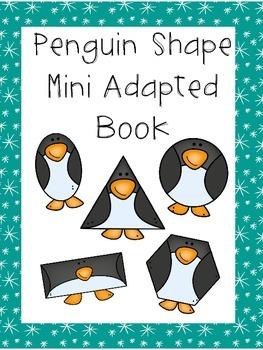 Penguin Shape Mini Adapted Book