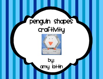 Penguin Shapes Craftivity
