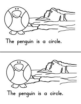 Penguin Shapes Emergent Reader