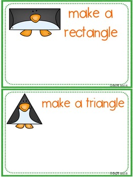 Penguin Shapes Fun! Playdoh Activity Pack