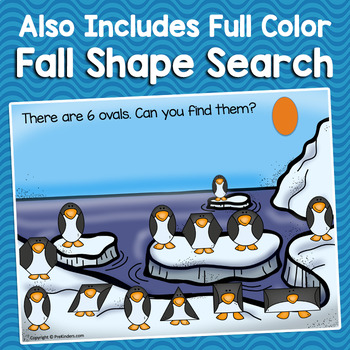 Penguin Shapes | Pre-K, K