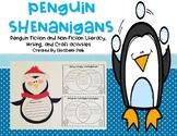 Penguin Shenanigans! {Literacy, Writing, & Craft Activities}
