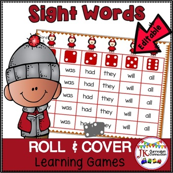 Penguin Sight Word Games - Penguins on Parade Roll & Cover