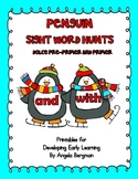 Penguin Sight Word Hunts