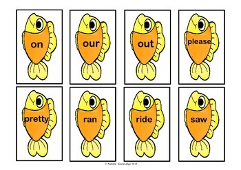 Penguins: Sight Word Matching:  Pre-Primer