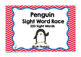 Penguin Sight Word Race