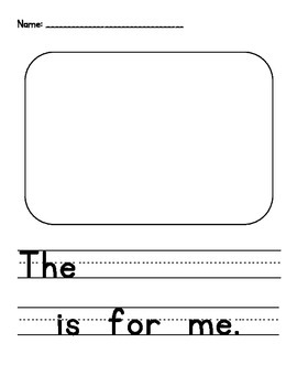 Penguin Sight Word Reader: For, Me - CCSS Aligned