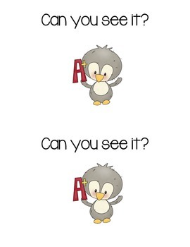 Penguin Sight Word Reader:  Look, You